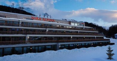 Швейцарский отель для горнолыжников
