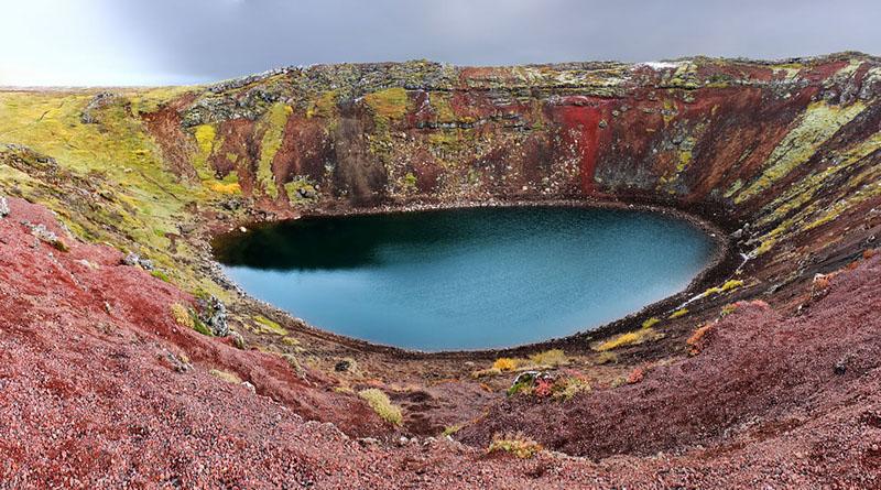 Как появляются озера после извержений вулканов