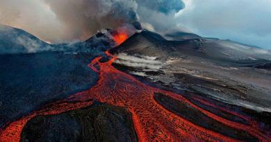 Радиоактивный метод определения извержения вулканов