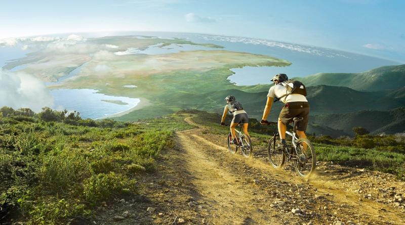 Путешествовать на велосипеде опаснее, чем на самолете