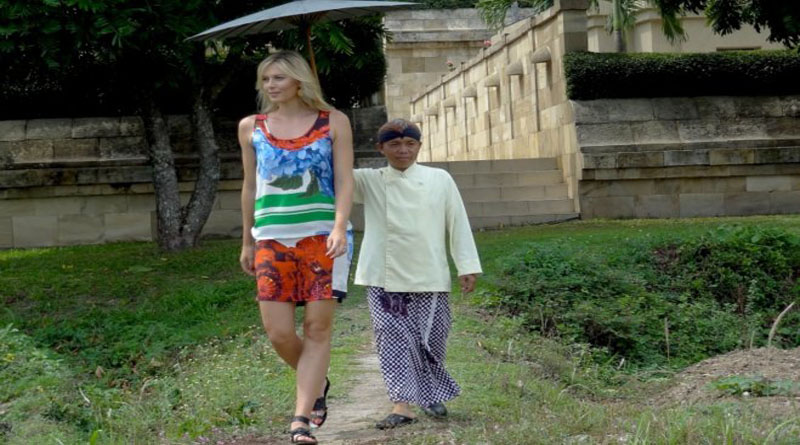 Шарапова в Индонезии