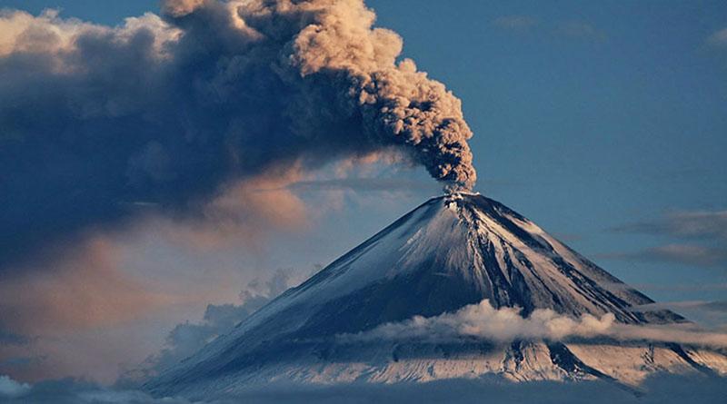 Вероятность извержения вулканов на Земле