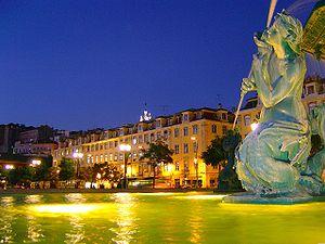 Достопримечательности старинного европейского города Лиссабон
