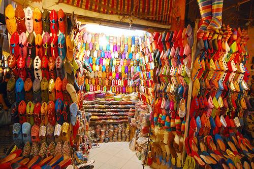 Souk-Market-Marrakech