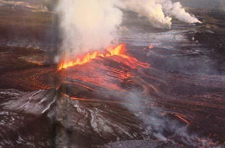 Ледники и вулканы Исландии