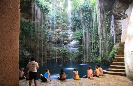 Запретные места древних обитателей Юкатана