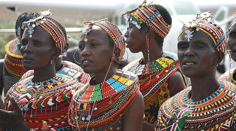 Женщины самбуру