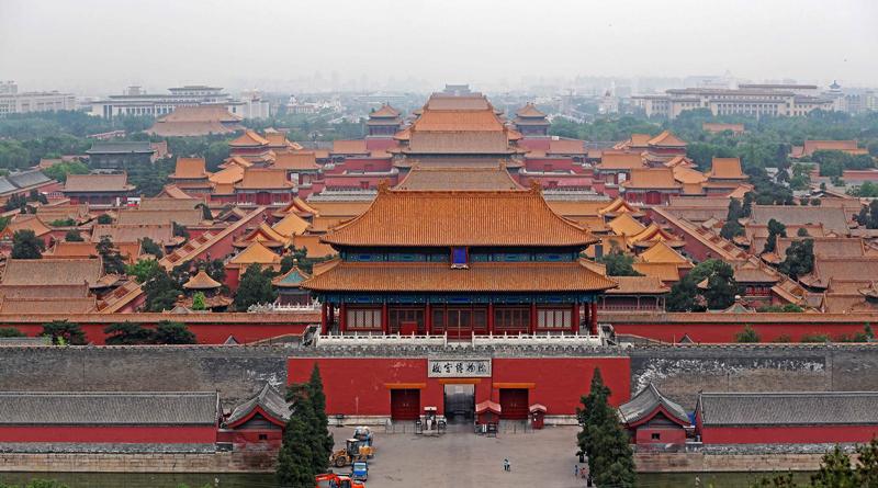 Запретный город, Китай