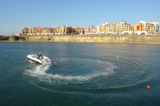 Курортный город в Болгарии Ахелой