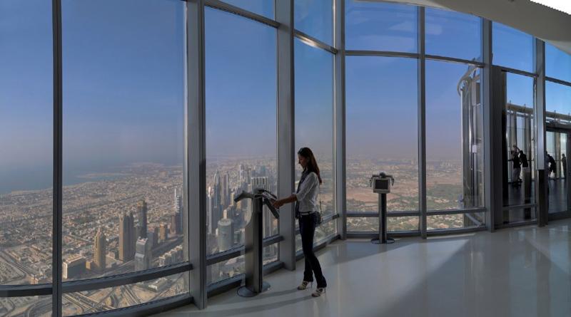 Смотровая площадка Бурдж-Халифа, Дубай, ОАЭ