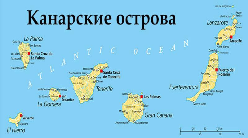 Что интересного на Канарских островах