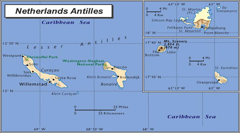 Что интересного на Нидерландских Антильских островах