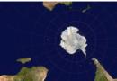 Карта Земли с необычного ракурса
