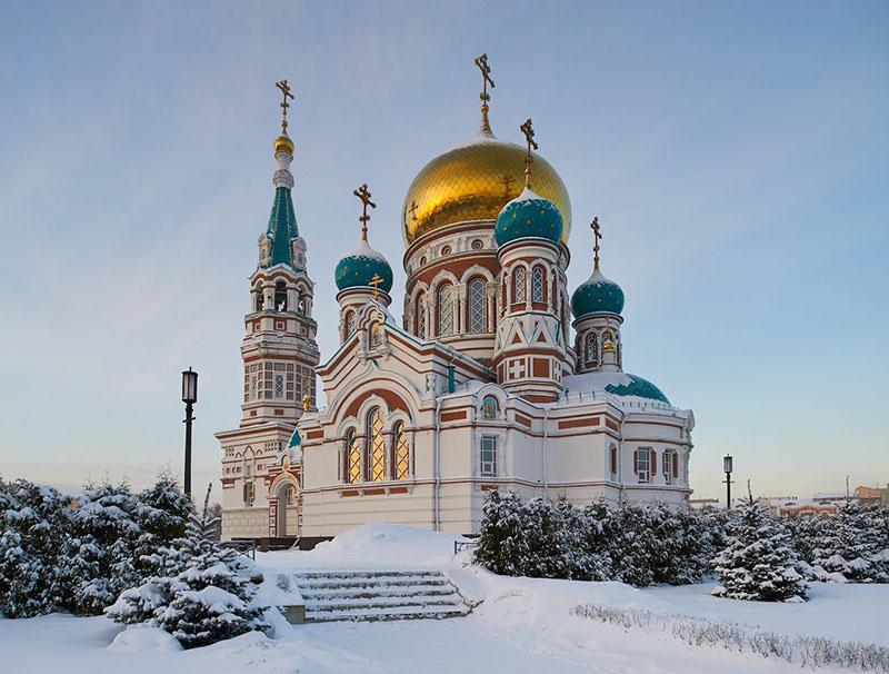 Описание русских православных храмов, уникальных своей красотой