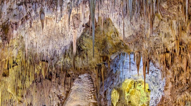 Удивительные и красивые американские пещеры для посещения туристами