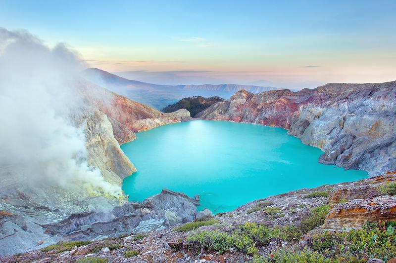 места в природе, которые выглядят как инопланетные пейзажи