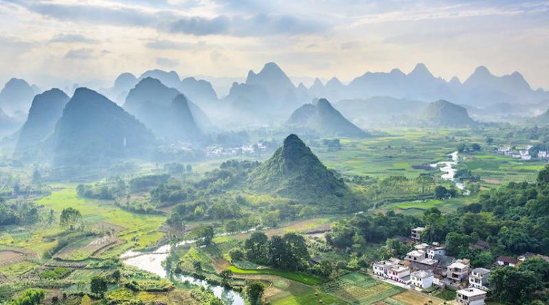 рост туризма в Китае