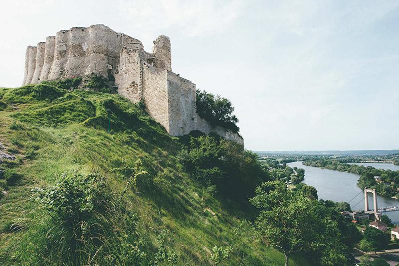 Построенная Ричардом Львиное Сердце неприступная крепость