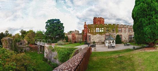 призрак леди Грей в отеле Ruthin Castle