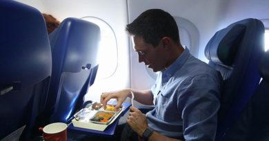 Как питаться в самолете