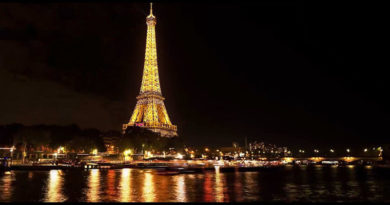 Почему нельзя фотографировать Эйфелеву башню ночью