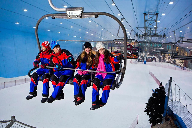 Покататься на лыжах без угрозы лавин или обморожения
