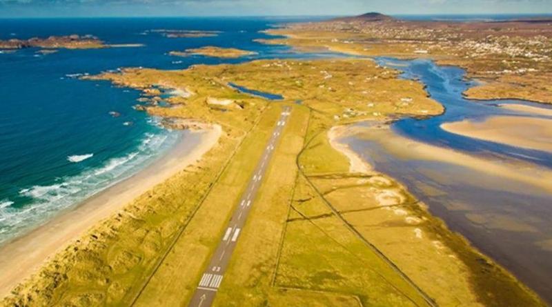 Аэропорт Донегол в Ирландии возглавляет список самых живописных аэропортов для посадки