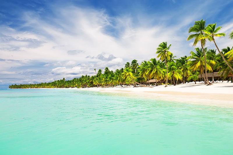 Если вы остаетесь в Пунта-Кане Доминиканской Республики и захотите убежать от толп, то вам нужно будет отправиться через кокосовые плантации в это укромное место на побережье Коста-дель-Коко.