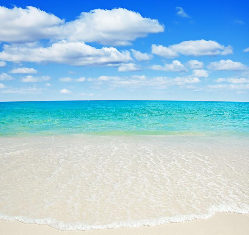 Пляж назван в честь покойной принцессы, которая назвала его одним из своих любимых пляжей на Карибах.