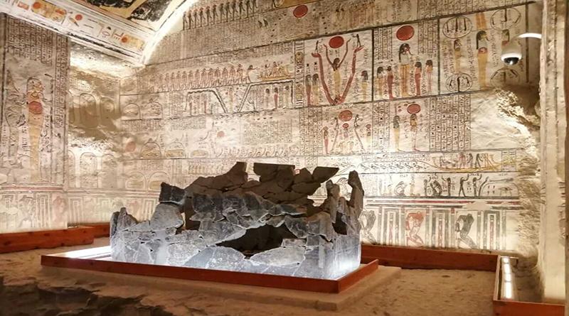 Благодаря партнерству между Министерством туризма и древностей и Министерством связи и информационных технологий гробницу Рамзеса VI в Долине Царей теперь можно исследовать в онлайн