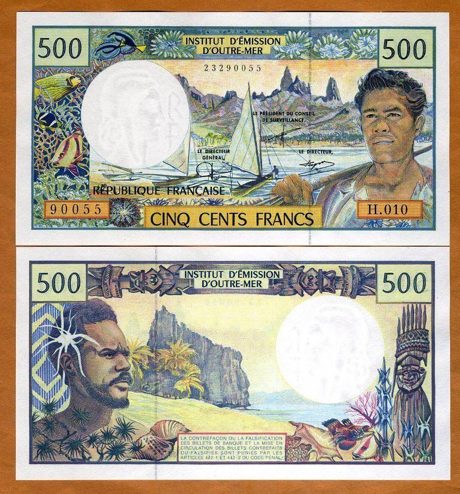 Тихоокеанский франк используется не только на островах Таити, но и на всех французских территориях в Тихом океане, т.е. Новой Каледонии и островах Уоллис и Футуна