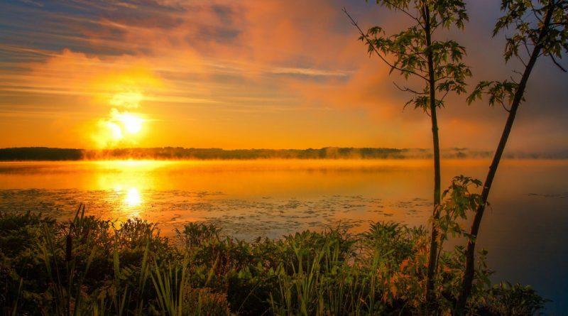 Волшебное Чудское озеро